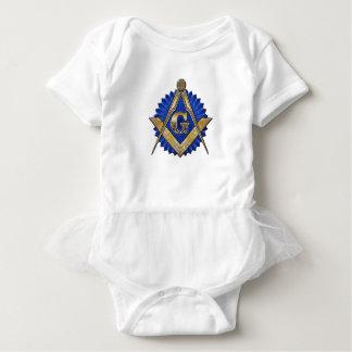 Body Para Bebê Pedreiro azul do alojamento