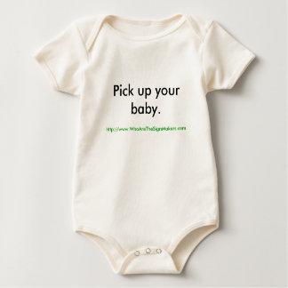 Body Para Bebê Pegare seu bebê