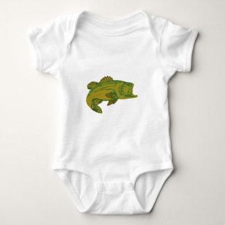 Body Para Bebê Peixes