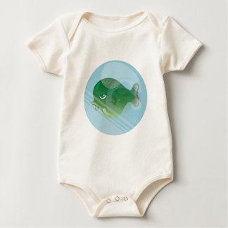 Body Para Bebê Peixes da bolha