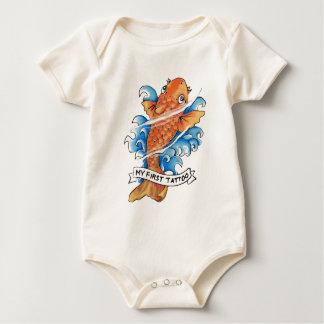 Body Para Bebê peixes do koi