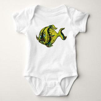 Body Para Bebê Peixes duvidosos