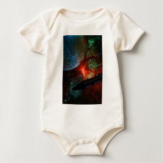 Body Para Bebê Pelotão do navio de espaço