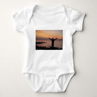 Body Para Bebê Penhasco do por do sol
