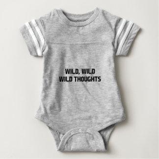 Body Para Bebê Pensamentos selvagens selvagens