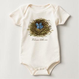 Body Para Bebê Pequeno o bem-vindo