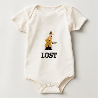 Body Para Bebê perdido algo