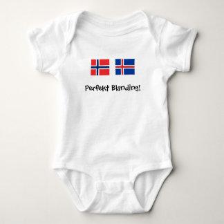 Body Para Bebê Perfekt Blanding (aperfeiçoe a mistura)