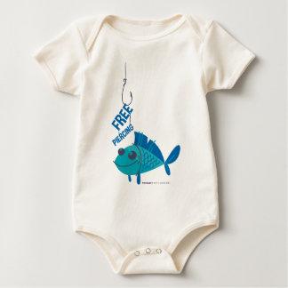 Body Para Bebê Perfuração livre