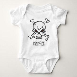 Body Para Bebê Perigo - 1