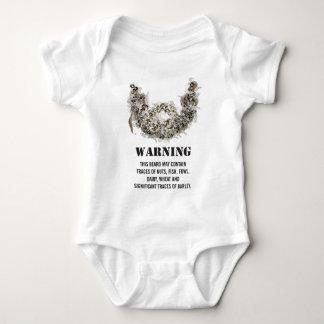 Body Para Bebê Perigo da barba