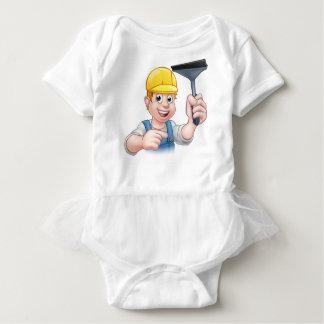Body Para Bebê Personagem de desenho animado do rodo de borracha