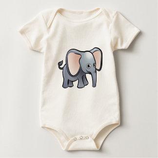Body Para Bebê Personagem de desenho animado dos animais do