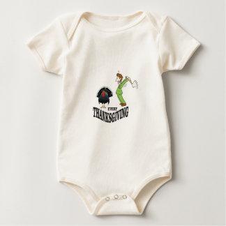Body Para Bebê peru da tradição de t-dia