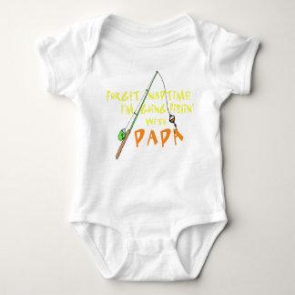 Body Para Bebê Pesca com papá