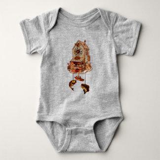 Body Para Bebê Pescando o pulso de disparo de cuco do alojamento