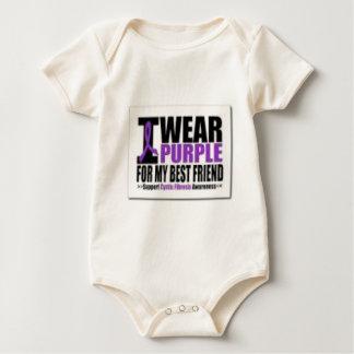 Body Para Bebê Pesquisa da fibrose cística do apoio