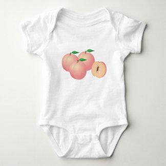Body Para Bebê Pêssegos