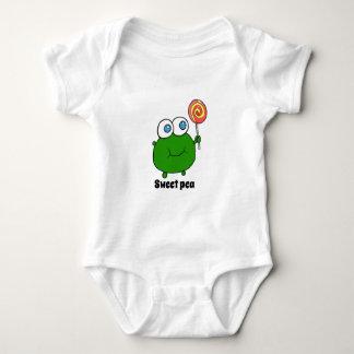 Body Para Bebê pessoa muito bonito da ervilha dos wepeas