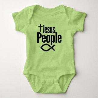 Body Para Bebê Pessoas adoráveis do Bodysuit do bebê de Jesus