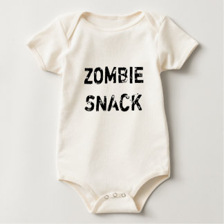 Body Para Bebê Petisco do zombi