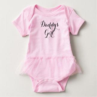 Body Para Bebê Pia batismal Handmade legal da menina do pai