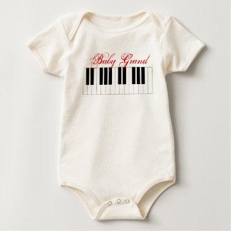 Body Para Bebê Piano de cauda do bebê -