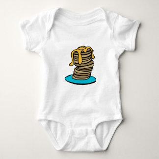 Body Para Bebê Pilha da panqueca