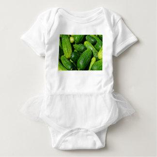 Body Para Bebê pilha dos pepinos