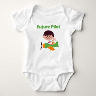 Body Para Bebê Piloto futuro