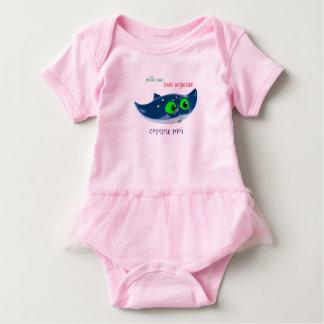"""Body Para Bebê pingamento bebé """"risca gracioso, como mim """""""