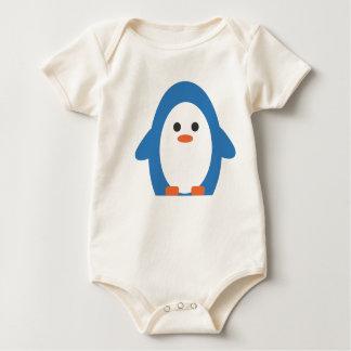 Body Para Bebê Pinguim do Peddler