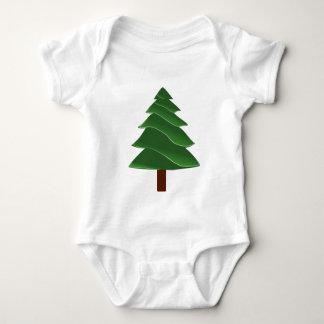 Body Para Bebê Pinho do Natal