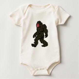 Body Para Bebê Pinhos de Bigfoot