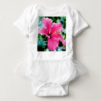 Body Para Bebê Pink hibisco