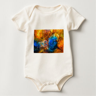 Body Para Bebê Pintura de pedra da textura