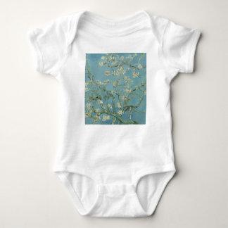 Body Para Bebê Pintura floral da flor da amêndoa de Vincent van