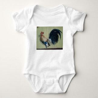 Body Para Bebê Pintura mural do galo do berçário