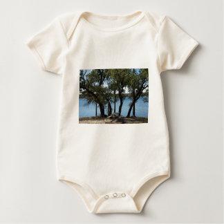 Body Para Bebê Piquenique no lago