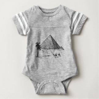 Body Para Bebê Pirâmide