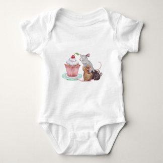 Body Para Bebê Pirâmide de rato