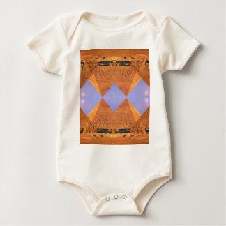 Body Para Bebê Pirâmides psicadélicos