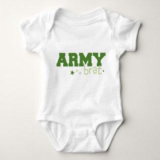 Body Para Bebê Pirralho do exército