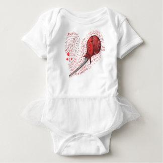 Body Para Bebê Pirulito