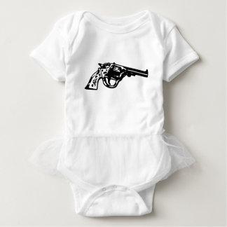 Body Para Bebê Pistola do revólver
