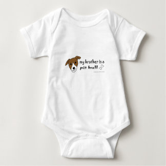 Body Para Bebê pitbull