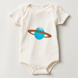 Body Para Bebê Planeta azul