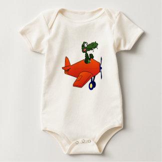 Body Para Bebê Plano do vôo do jacaré