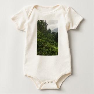 Body Para Bebê Plantação de chá