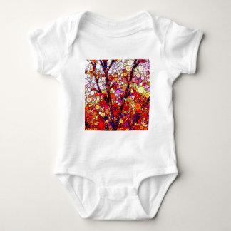 Body Para Bebê Plantando árvores de cereja